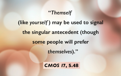 Themself Is a Perfectly Cromulent Word
