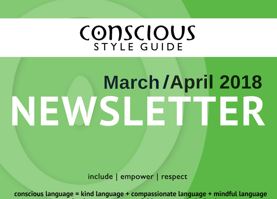 March/April 2018 Newsletter