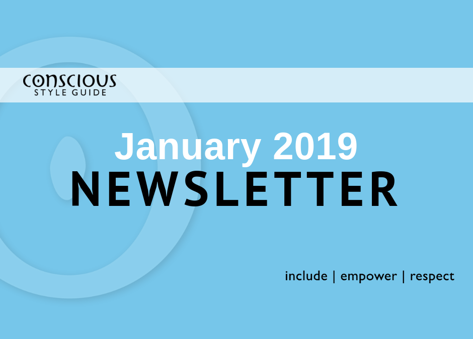January 2019 Newsletter
