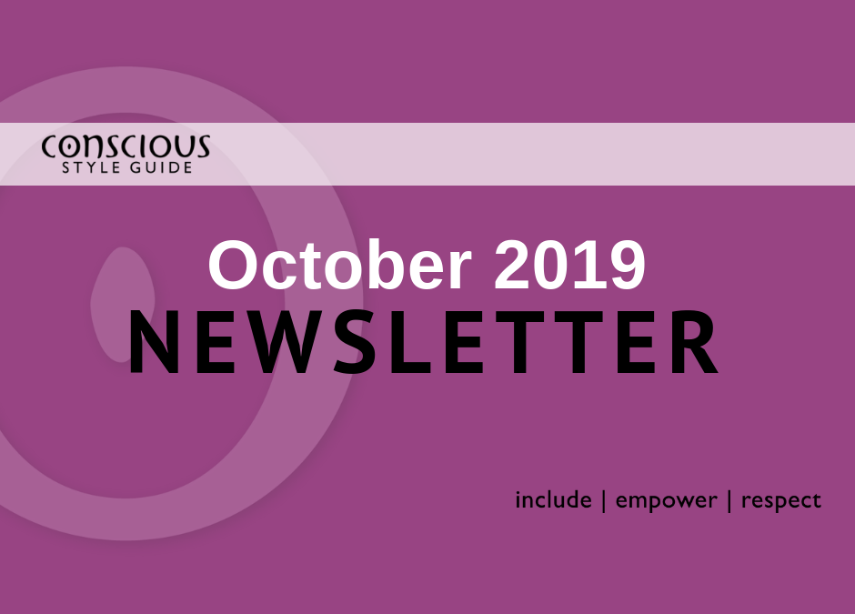 October 2019 Newsletter